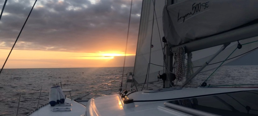 The Maiden Passage of Catching Up! Knysna to CapeTown
