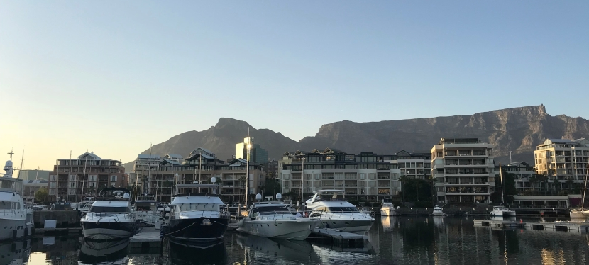 Boat Works in Cape Town